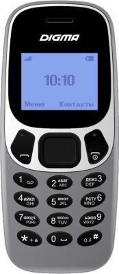 Мобильный телефон Digma Linx A105N 2G 32Mb темно-серый моноблок 1.44 68x96 GSM900/1800 сотовый телефон digma linx alfa 3g black