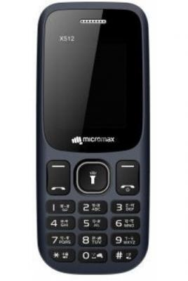 Мобильный телефон Micromax X512 32Mb синий моноблок 2Sim 1.77 128x160 0.08Mpix BT GSM900/1800 MP3 FM microSD max8Gb цена
