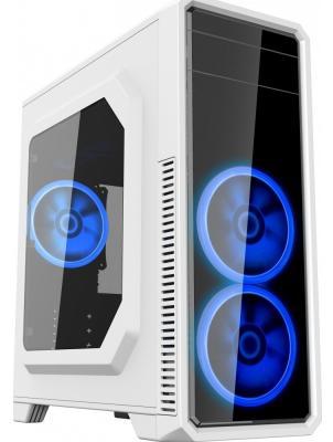 Корпус ATX GameMax G561-White без БП Без БП белый