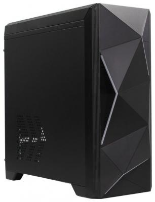 Корпус microATX PowerCool S6030 Без БП чёрный