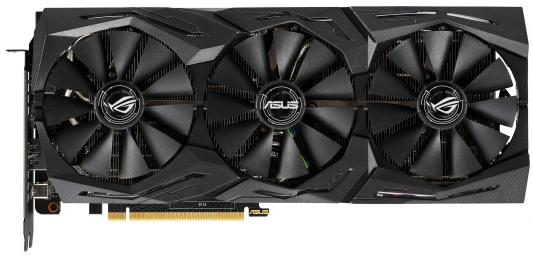 Видеокарта ASUS nVidia GeForce RTX 2070 ROG Strix GAMING PCI-E 8192Mb GDDR6 256 Bit Retail (ASUS ROG-STRIX-RTX2070-A8G-GAMING)