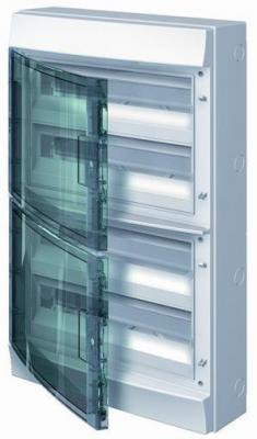 ABB 1SLM006501A1209 Бокс настенный 72М прозрачная дверь Mistral65 (с клемм) бокс abb 1slm006502a1204