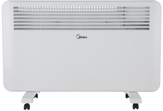 цена Конвектор Midea MCH-3050 2000 Вт дисплей таймер пульт ДУ термостат светодиодный индикатор белый