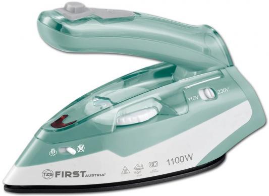 Утюг First FA-5640-1 1100Вт зелёный утюг first fa 5633 3