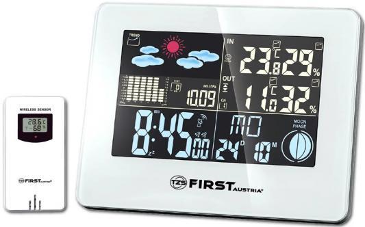 2461-2-WI Метеостанция FIRST, цветной LED-диспл., беспроводной датчик, измерение уличной/комнатной т