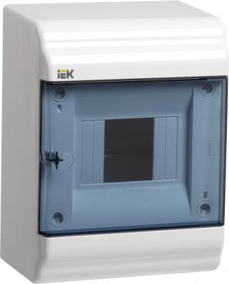 IEK_MKP82-N-04-41-20_Бокс ЩРН-П-4 модуля навесн.пластик IP41 PRIME щит распределительный навесной на 2 4 модуля щрн п 4 ip30 пластиковый без дверей 1 4 кмпн белый