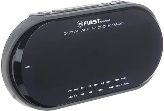 Часы с радиоприёмником First FA-2409-1-RF серый