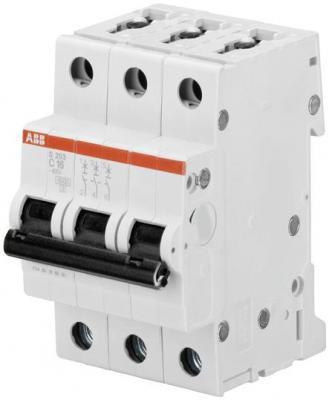 ABB 2CDS253001R0254 Автомат.выкл-ль 3-полюсной S203 C25 автомат abb s203 c63