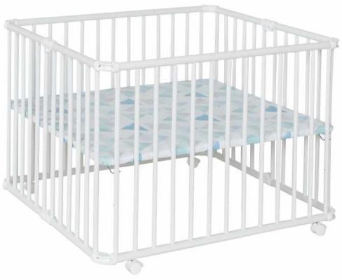 Детский манеж Lucilee 90,2 x 97,4, белый 011 детский манеж caitian