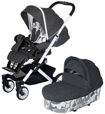 Купить Детская коляска VIP GTS XL 637 (без сумки), HARTAN, серый, Прогулочные коляски
