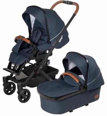 Купить Детская коляска Selection YES GTS XL 656, HARTAN, синий, Прогулочные коляски