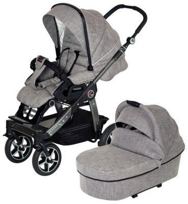Купить Детская коляска Racer GTS XL 621 (без сумки), HARTAN, серый, Прогулочные коляски