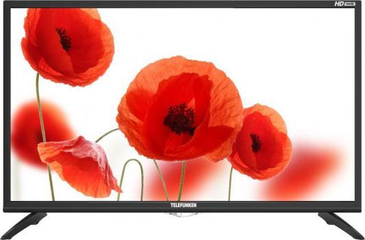 Телевизор LED Telefunken 31.5 TF-LED32S75T2 черный/HD READY/50Hz/DVB-T/DVB-T2/DVB-C/USB (RUS) led телевизор telefunken tf led32s39t2s r 31 5 hd ready 720p черный