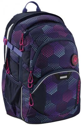 Школьный рюкзак светоотражающие материалы Coocazoo JobJobber2: Purple Illusion 30 л синий фиолетовый 00183623 рюкзак hama coocazoo jobjobber2 red district
