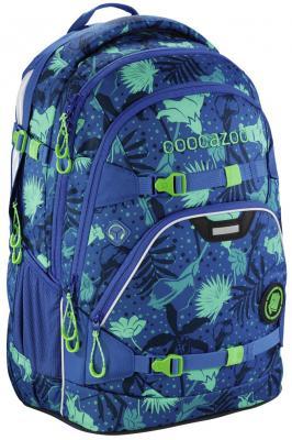 Школьный рюкзак светоотражающие материалы Coocazoo ScaleRale: Tropical Blue 30 л синий 00183609 рюкзак светоотражающие материалы coocazoo green purple district 30 л бирюзовый синий