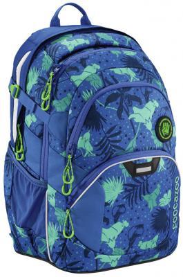 Школьный рюкзак светоотражающие материалы Coocazoo JobJobber2: Tropical Blue 30 л синий 00183622 ранец светоотражающие материалы tiger family весна 14 л розовый