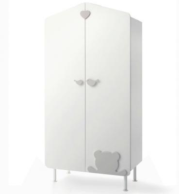 Шкаф Casetta Casetta белый/серый цена