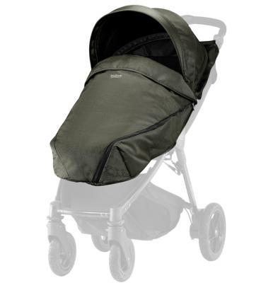 Купить Капор и накидка Olive Denim для коляски B-Agile/ B-Motion 4 Plus, BRITAX, Защита от солнца