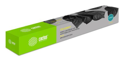 Тонер Картридж Cactus 841818 CS-C3503Y желтый (18000стр.) для Ricoh MP C3503 тонер картридж cactus cs cf283x black