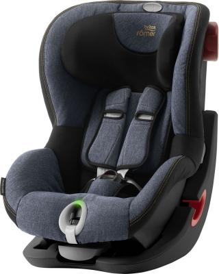 Детское автокресло King II LS Black Series Blue Marble Highline