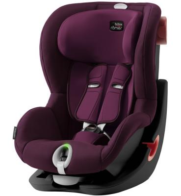 Детское автокресло King II LS Black Series Burgundy Red Trendline детское автокресло king ii ls fire red trendline