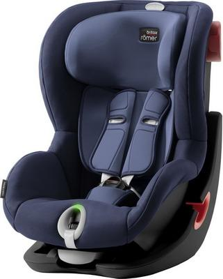 Детское автокресло King II LS Black Series Moonlight Blue Trendline автокресло britax romer king ii black series moonlight blue