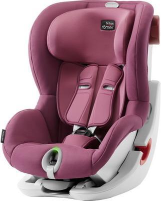 Купить Детское автокресло King II LS Wine Rose Trendline, Britax Romer, Розовый, Группа 1 (9-18 кг/от 1 до 3.5-4 лет)
