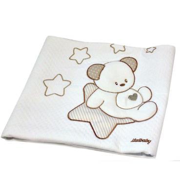 Покрывало Sweet Star 65х80 пике, крем