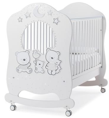 Детская кровать Happy Family Oblo, белый кроссовки happy family happy family ha016amajnq2