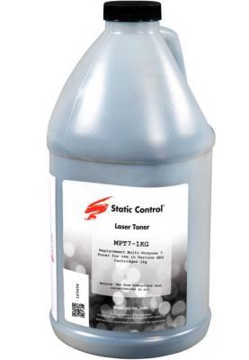 Фото - Тонер Static Control MPT7-1KG черный флакон 1000гр. для принтера HP LJP1005/1006/1505 тонер static control trhm606 1160bos черный флакон 1160гр для принтера oki b431