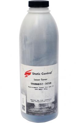 Фото - Тонер Static Control TRHM402-305B черный флакон 305гр. для принтера HP LJ M402/M426 тонер static control trhm606 1160bos черный флакон 1160гр для принтера oki b431
