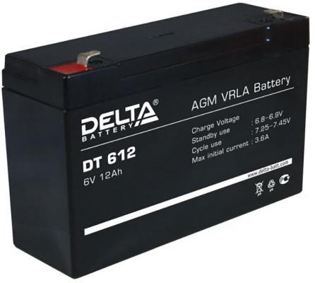 купить Delta DT 612 (12А\\ч, 6В) свинцово- кислотный аккумулятор дешево