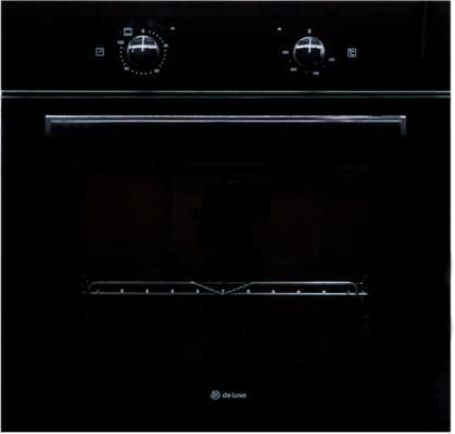 Электрический шкаф De Luxe 6003.01 ЭШВ-070 черный духовой шкаф de luxe 6006 03 эшв 060