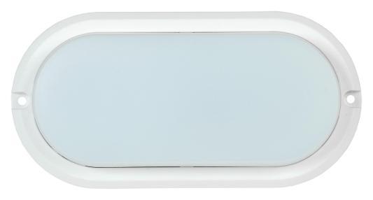 Iek LDPO0-4011-8-4000-K01 Светильник LED ДПО 4011 8Вт IP54 4000K овал белый IEK светильник настенно потолочный iek дба 3928 аккумулятор 4 ч 100 led ldba0 3928 100 k01