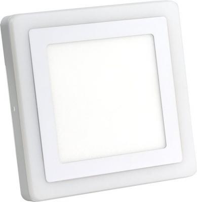 Smartbuy SBLSq1-DLB-18-3K-B Накладной (LED) светильник Квадрат с синей подсветкой DLB 18w/3000K+B/IP20