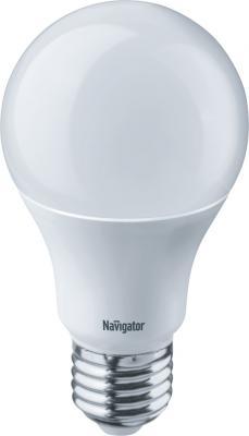 Лампа светодиодная груша Navigator NLL-A55-7-230-4K-E27 E27 7W 4000K