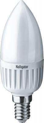 Navigator 94480 Светодиодная лампа NLL-P-C37-5-230-2.7K-E14-FR
