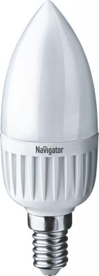 Navigator 94482 Светодиодная лампа NLL-P-C37-5-230-4K-E14-FR лампочка navigator nll c37 7 230 4k e14 cl 71 853