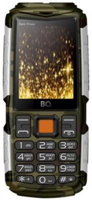 Мобильный телефон BQ 2430 Tank Power хаки цена и фото