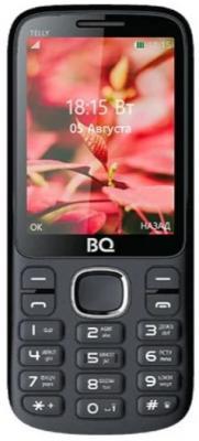 BQ 2808 TELLY, Black+red сотовый телефон bq 2808 telly black grey