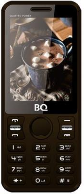 BQ-2812 Quattro Power Brown мобильный телефон bq mobile bq 2812 quattro power gold