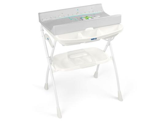 Купить Стол пеленальный с ванночкой Cam Volare (цвет 242), белый, н/д, Столы для пеленания