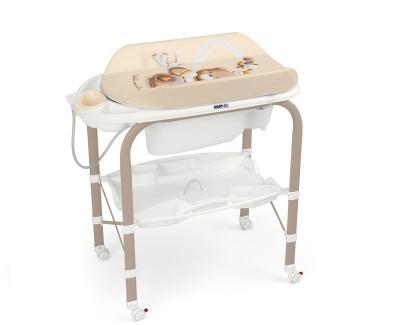 Стол пеленальный с ванночкой Cam Cambio (цвет 240) cam пеленальный столик cambio мишка cam бежевый