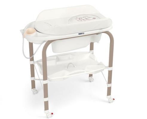 Стол пеленальный с ванночкой Cam Cambio (цвет 241) cam пеленальный столик cambio мишка cam бежевый