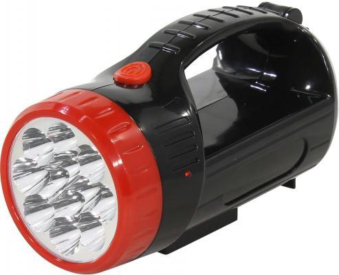 Smartbuy SBF-401-1-K Аккумуляторный светодиодный фонарь-прожектор 12+9 SMD, черный smartbuy sbf 88 y аккумуляторный светодиодный фонарь 7 8 led с прямой зарядкой желтый