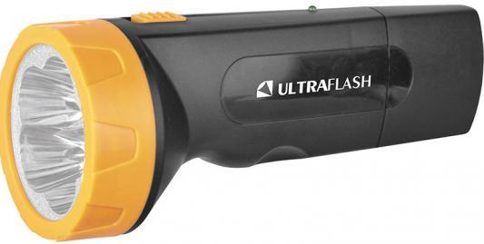 Ultraflash LED3827 (фонарь аккум 220В, черн /желт, 5 LED, SLA, пластик, коробка) цена