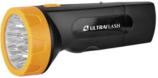 Ultraflash LED3829 (фонарь аккум 220В, черн /желт, 9 LED, SLA, пластик, коробка) цена