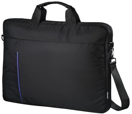 Сумка для ноутбука 15.6 HAMA Cape Town полиэстер черный 00101907