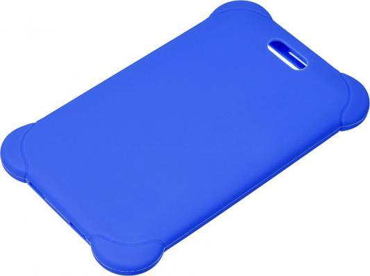 Картинка для Чехол Digma для Digma HIT 7556 силикон синий