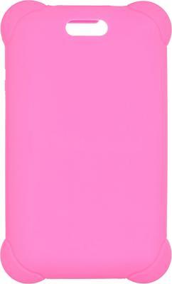 Чехол Digma для Digma HIT 7556 силикон розовый kumon игры с числами от 1 до 150 kumon